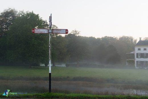 ANWB fiestbord voor het Landgoed Vollenhoven