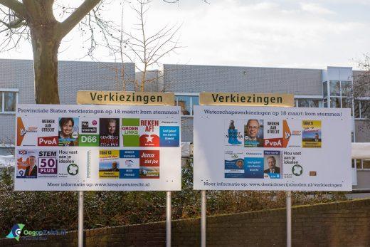 Verkiezingsposter opprikbord