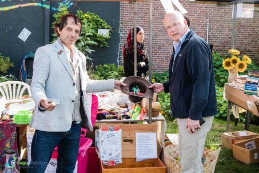 Jantje Paasman presenteert de nieuwste inzamelactie van de weggeefwinkel