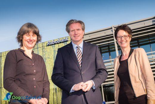 Rabobank overeenkomst Samen voor De Bilt en Samen voor Zeist Foto: Hans Lebbe / HLP images