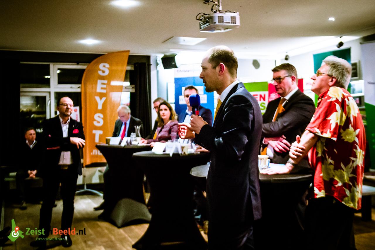 #ZeistKiest: Het verkiezingsdebat voor het Lyceumkwartier bij Hockeyclub Schaerweijde